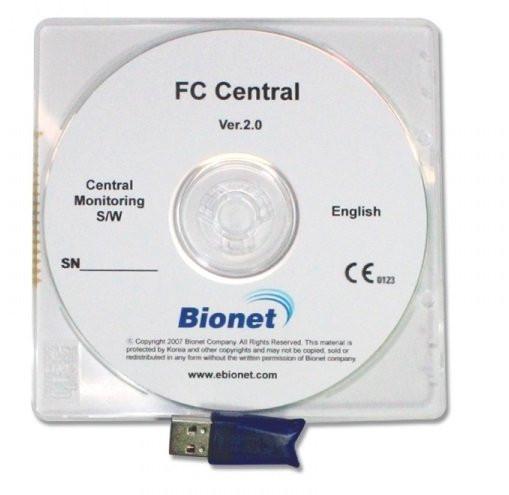 medical ECONET CTG-Archiv Software / Zentrale Überwachungssoftware - FC Central