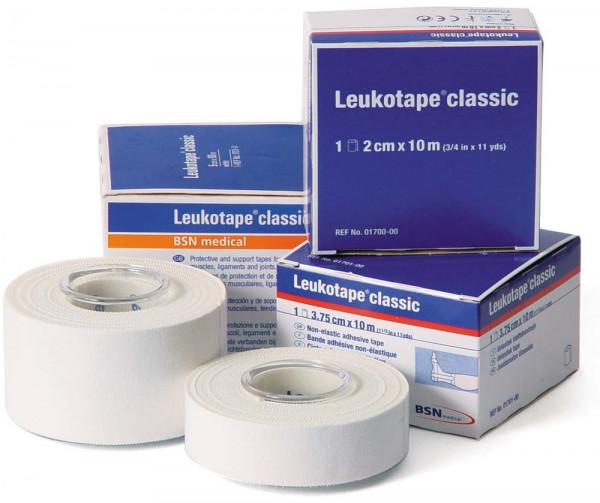 BSN medical Leukotape® classic - 2 cm x 10 m - Farbe: Weiß - Packung á 5 Stück
