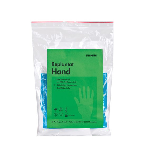 SÖHNGEN® Replantat Notfallset Hand | Größe: S