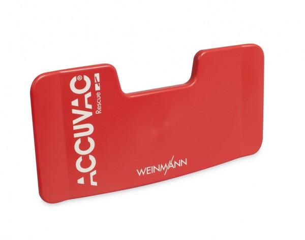 Weinmann Schlauchhalterplatte für ACCUVAC Rescue | Farbe: Rot