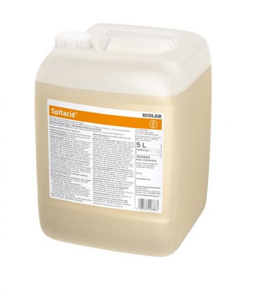 ECOLAB Spitacid™ Händedesinfektion   5 Liter Kanister