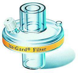 Iso-Gard® Beatmungsfilter mit CO2-Anschluss - Erwachsene