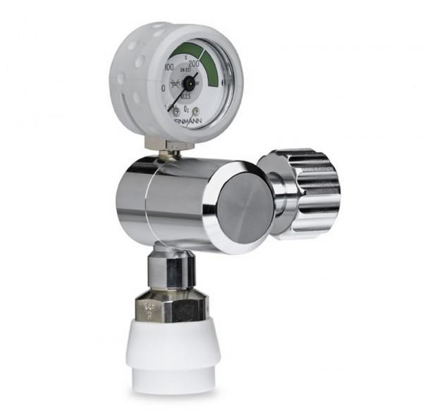 Weinmann OXYWAY Fix III Sauerstoff Druckminderer | Abgang: 150 l/min | Bolzen: 50 mm
