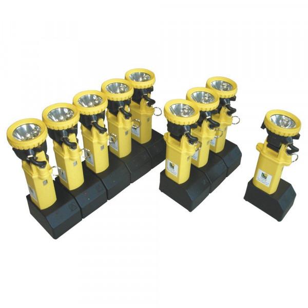 ADALIT® Ladegerät für 5 ADALIT® L2000 / L3000 - Spannung: 220 / 240 Volt