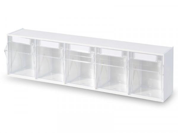 STALA Spritzenspender / Kanülenspender - 5-fach - Farbe: Weiß