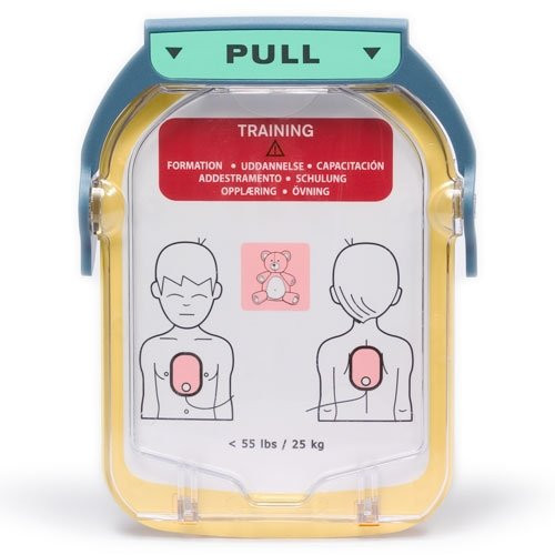 PHILIPS HeartStart HS1 Trainings-Elektrodenkassette für Kinder | 1 Paar