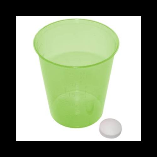 MeierMed Einnehmebecher - Farbe: Grün - Packung á 2400 Stück