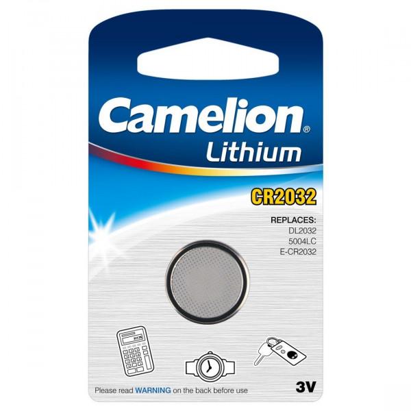 MeierMed CR2032 3V Premium Lithium Batterie Knopfzelle - 1 Stück