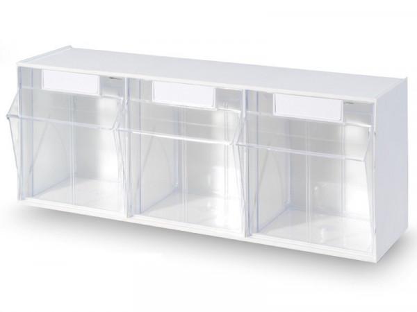 STALA Spritzenspender / Kanülenspender - 3-fach - Farbe: Weiß