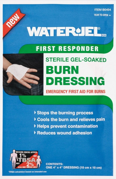 Water Jel® HA First Responder Kompresse | steril | 10 cm x 10 cm