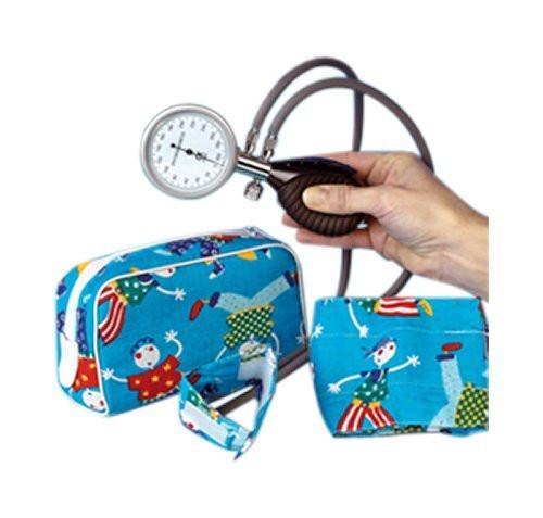 MeierMed Aneroid Blutdruckmessgerät mit Klettmanschette für Baby´s und Kinder - 2-Schlauch