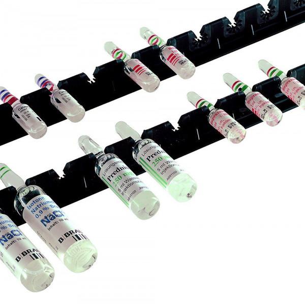 Ambu® Ampullenleiste für 19 Ampullen - Länge 48,2 cm