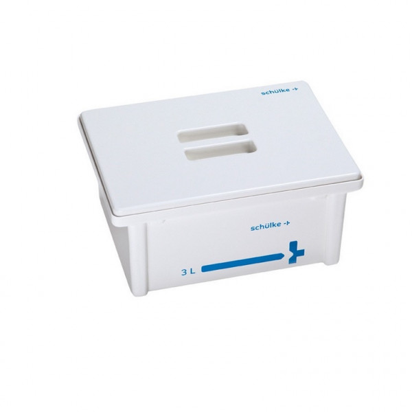schülke Desinfektionswanne / Instrumentenwanne | Inhalt: 3 Liter | Deckel: Weiß