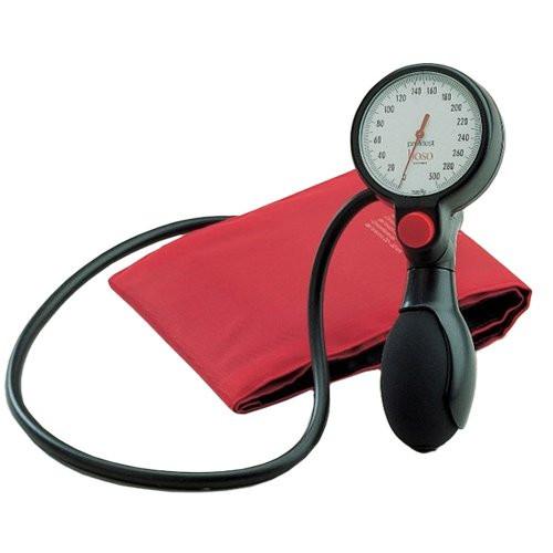 BOSO profitest Blutdruckmessgerät Ø 60 mm - mit Klettmanschette - Einschlauch