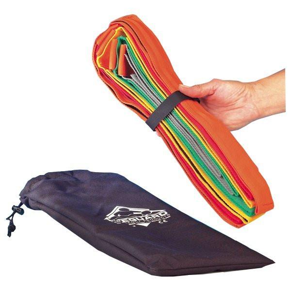 Lifeguard® Gurtspinne nach PHTLS - 10-Punkt Fixierspinne inkl. Tasche - Farbe: Bunt