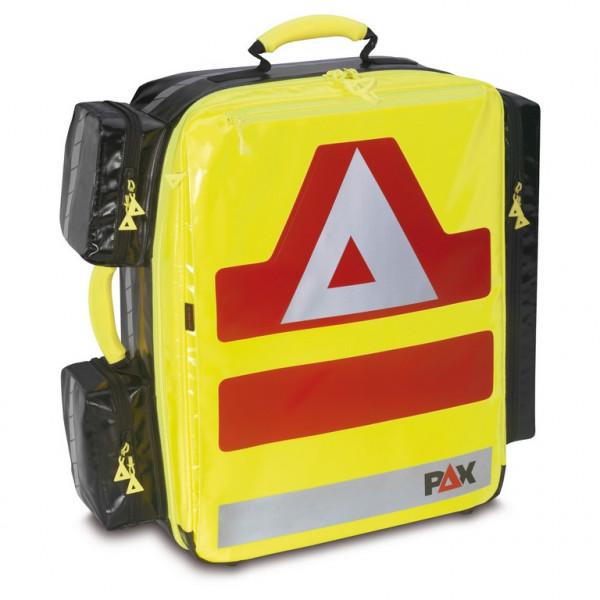 PAX® Notfallrucksack Wasserkuppe L-ST | Material: PAX®-Plan | Farbe: Tagesleuchtgelb