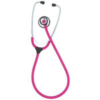 KaWe COLORSCOP® Duo Stethoskop mit Namensschild - Farbe: Pink