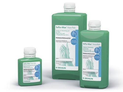 B. Braun Softa-Man® Händedesinfektionsmittel | 1000 ml Flasche