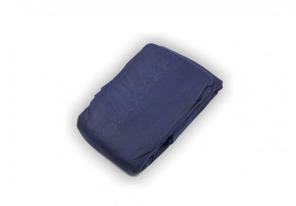 MeierMed Einmaldecke - Polyesterwattefüllung - 400 g - Blau - Packung: 48 Stück