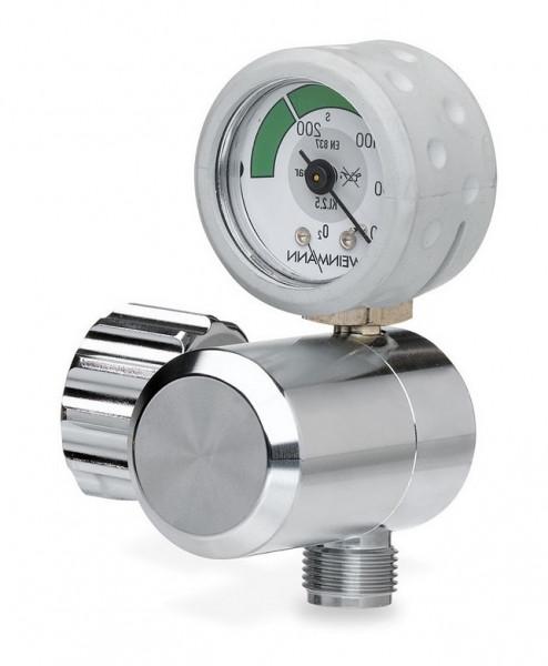 Weinmann OXYWAY Fix III Sauerstoff Druckminderer | Abgang: 190 l/min | Bolzen: 30 mm