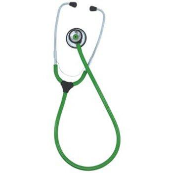 KaWe COLORSCOP® Duo Stethoskop mit Namensschild - Farbe: Grün
