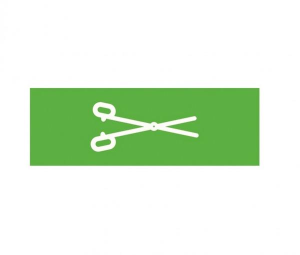 Weinmann Aufkleber Normsymbol | Ausführung: Klemme
