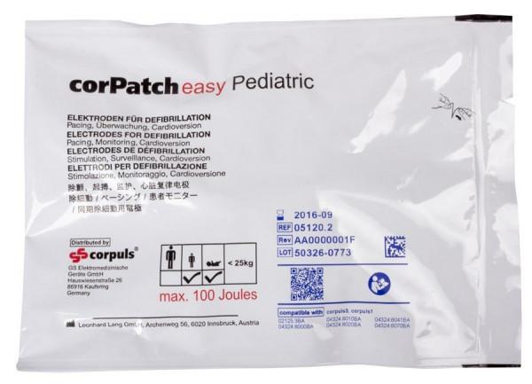 Corpuls® corPatch Easy Defibrillationselektroden für Corpuls³ - Kinder