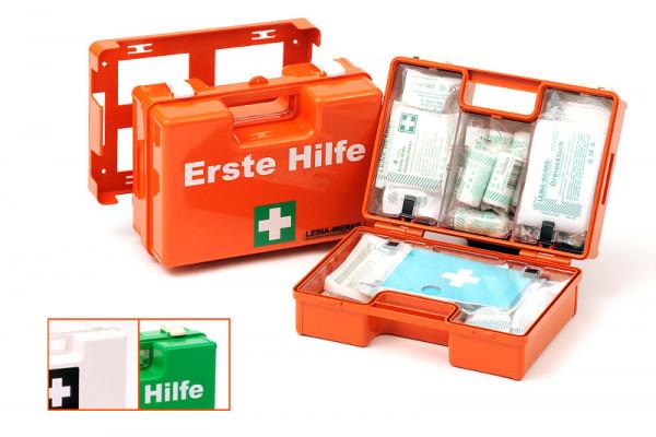 LEINA WERKE Erste-Hilfe-Koffer | SAN | mit Füllung DIN 13169 | Farbauswahl