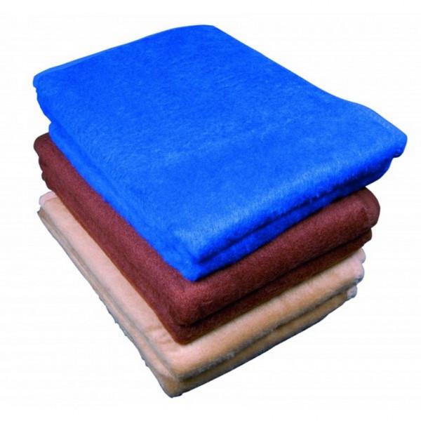 ultraMEDIC® Wolldecke / Sanitätsdecke ultraBLANKET | 200 x 150 cm | Farbe: Blau