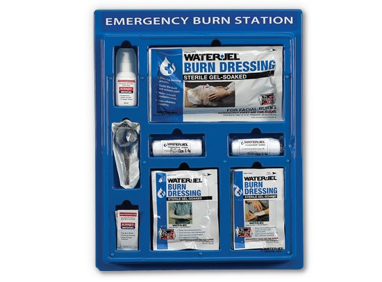 Water Jel® Emergency Burn Station / Verbrennungsstation