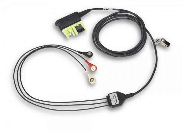 ZOLL® AED Pro® EKG Kabel IEC | 3-adrige Ableitung
