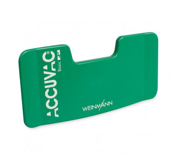 Weinmann Schlauchhalterplatte für ACCUVAC Basic | Farbe: Grün