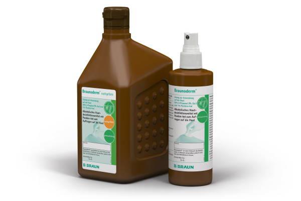 B. Braun Braunoderm® Hautdesinfektion | ungefärbt | 250 ml Flasche
