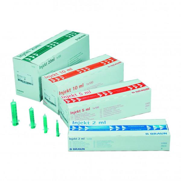 B.Braun Injekt® Einmalspritzen 2 ml | Packung á 100 Stück