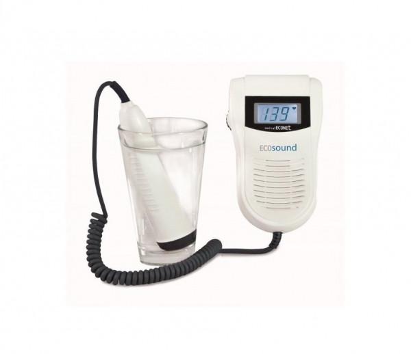 medical ECONET ECOsound Fetaler-Taschendoppler BT-200 WP mit wasserfester Sonde