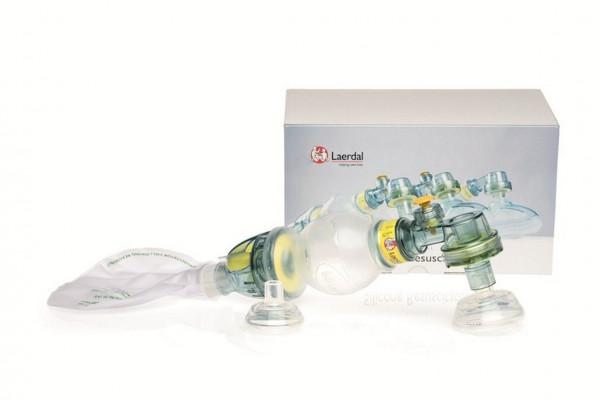 Laerdal® Silikon Beatmungsbeutel inkl. Maske Gr. 00 und Gr. 0/1   Baby