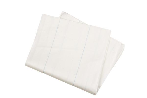 MeierMed Einmal Tragenlaken - 8 Fäden - Farbe: Weiß - Packung á 100 Stück
