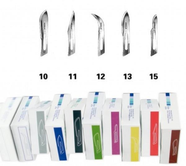 B.Braun AESCULAP® Sicherheits-Skalpellklingen | Einmal-Klingen | 100 Stück