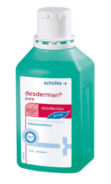 schülke desderman® pure | Händedesinfektion | 500 ml Flasche